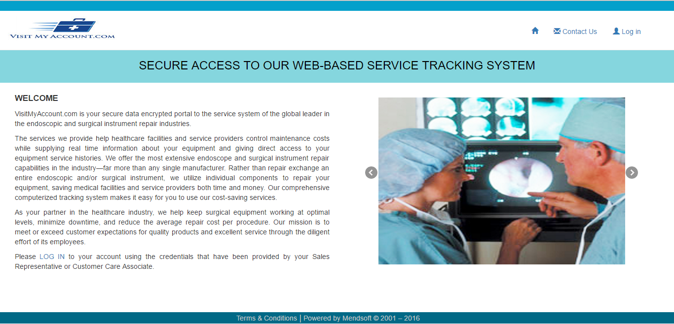 Web-Based Service Tracking System